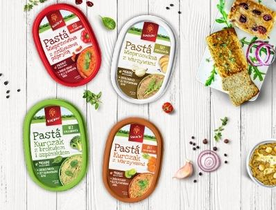 Meat-vegetable pastes