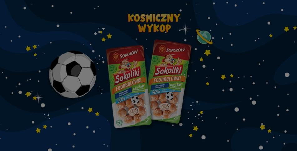 """Space Kick"" Sokołów a sponsor of an animated series"